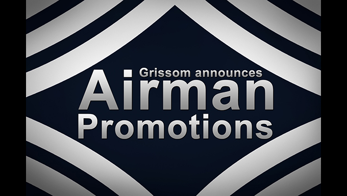 Moving up, Grissom Airmen earn that next stripe