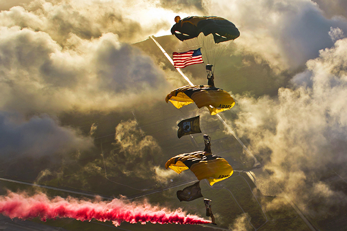 Golden Knights set to appear at Grissom air show