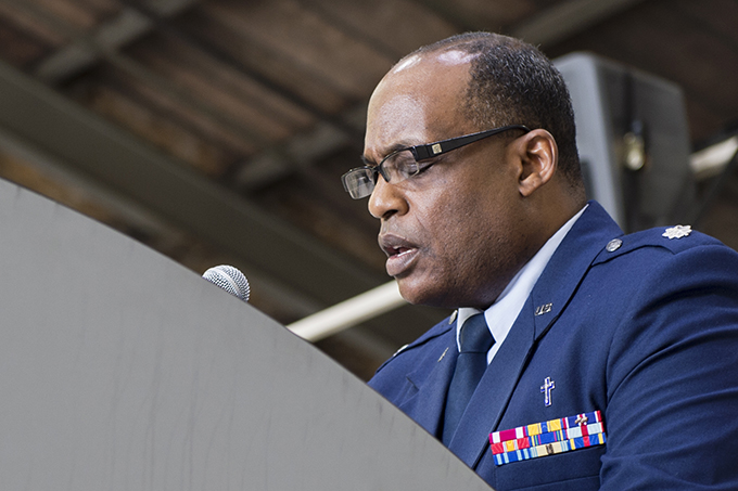 Chaplain sends message to Airmen: Stability in the midst of change