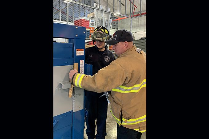 GFD adds valuable training tool
