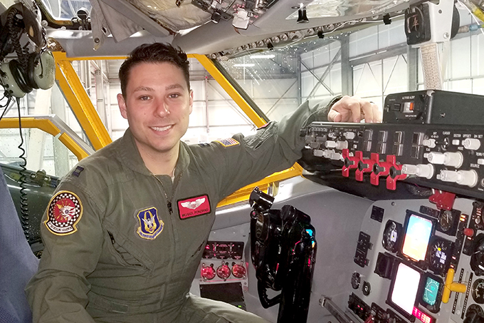 Grissom steps up pilot recruiting to combat shortage