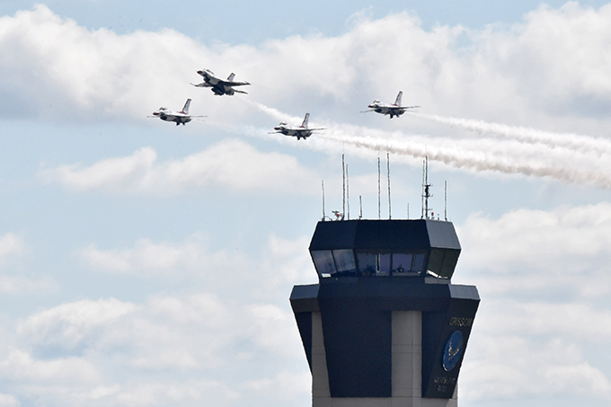 Enormous crowds gather for 2019 Grissom Air & Space Expo