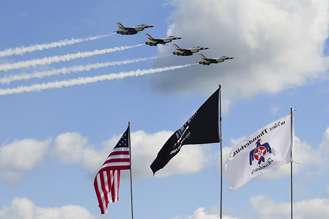 First day of Grissom Air & Space Expo kicks off