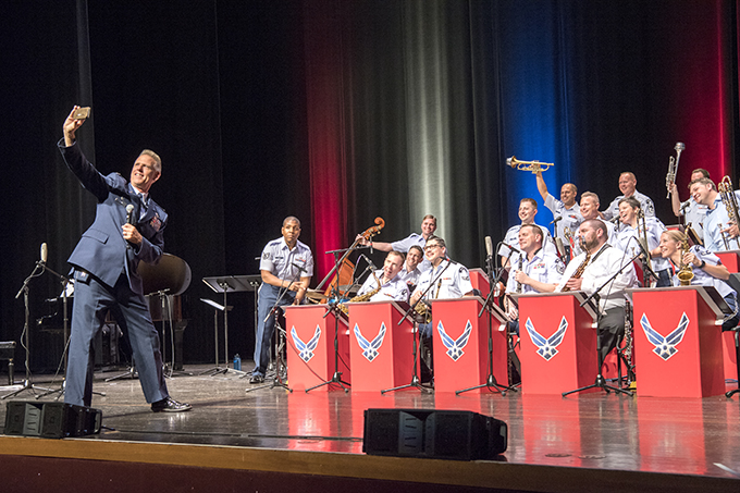 Band of Mid-America performs in Wabash