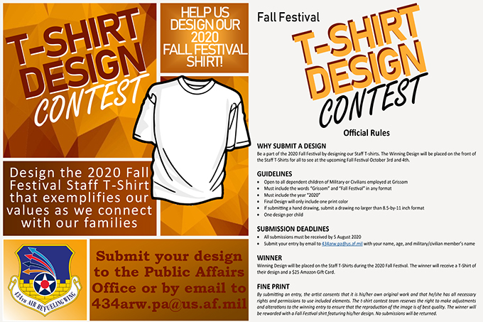 Grissom accepting submissions for Fall Festival t-shirt designs