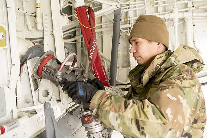 Despite COVID-19 434th ARW deployments continue