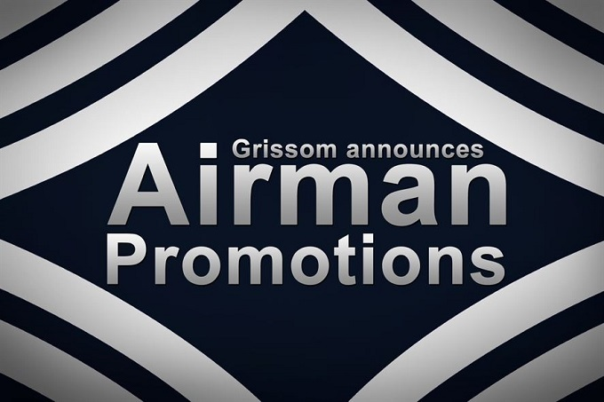 Grissom announces Airmen promotions