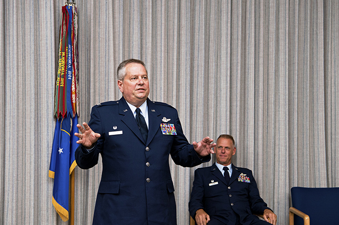 Hollis assumes command of the 434th Operations Group