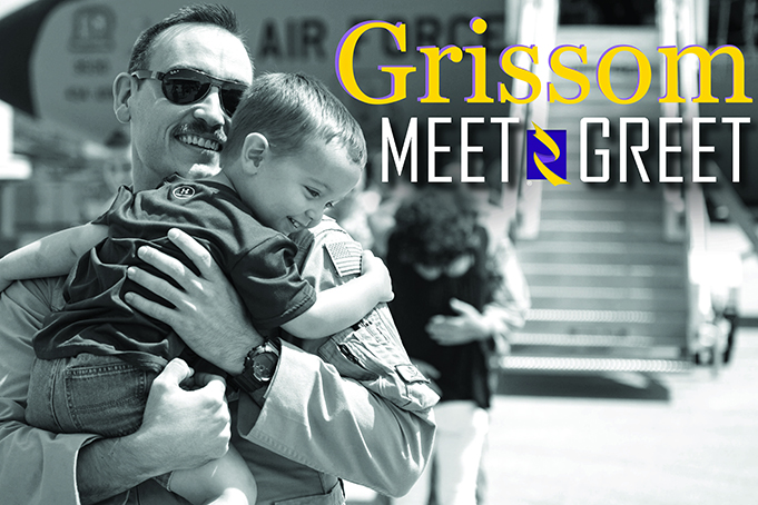 Grissom to host family meet, greet events